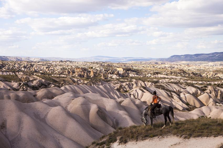 Paardrijvakantie in Cappadocië Turkije