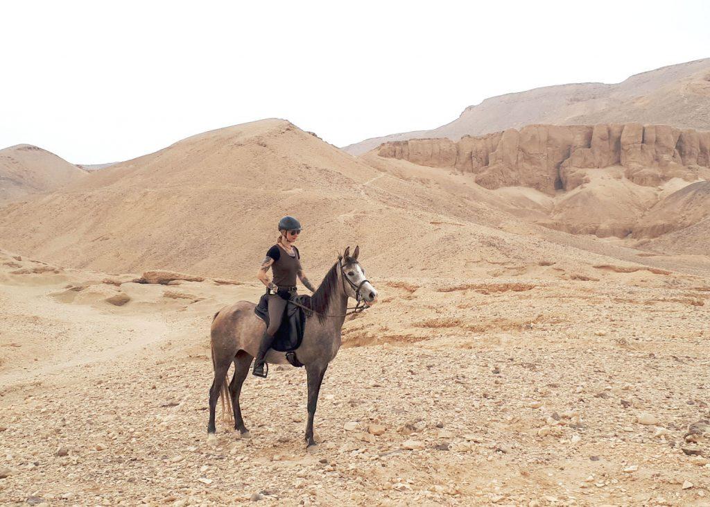Paardrijvakantie in de woestijn van Egypte