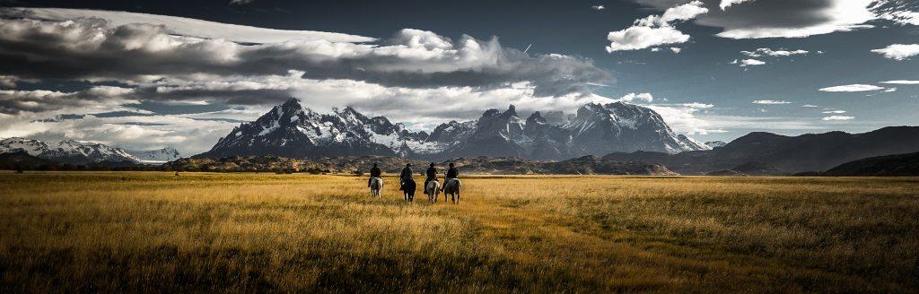 Paardrijden in Patagonië