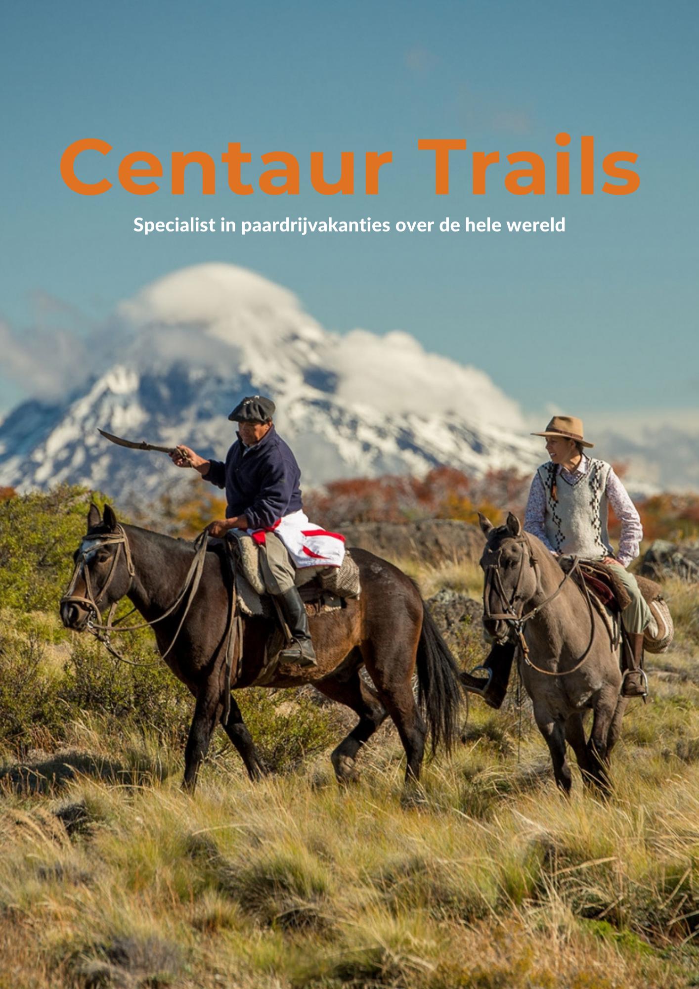 Gratis Paardrijvakantie inspiratie magazine